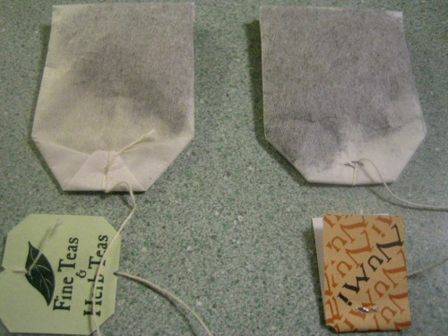 tea bags, sustainable design